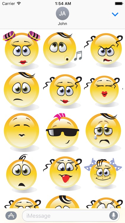 Emotion Cute Sticker Pack 01