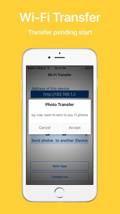 WiFi Transfer - Photo Manager