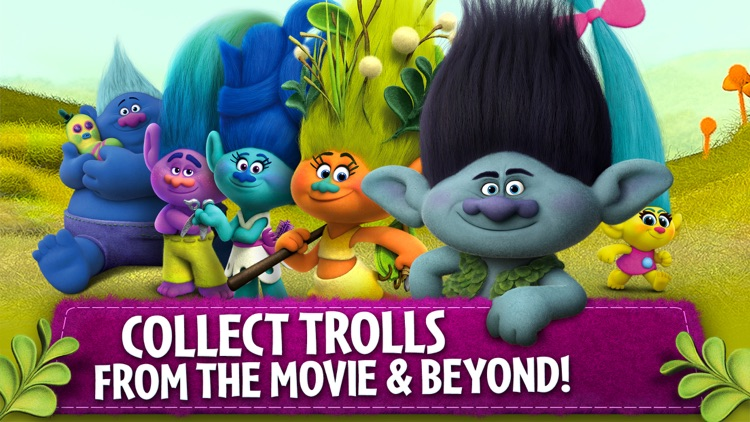 Trolls: Crazy Party Forest! screenshot-4