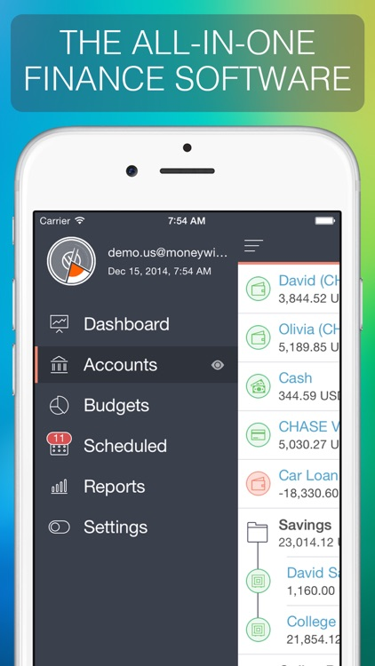 MoneyWiz 2 - Personal Finance Manager screenshot-0