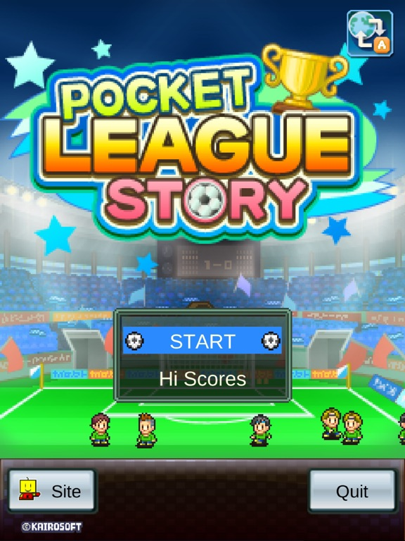 Игра Pocket League Story