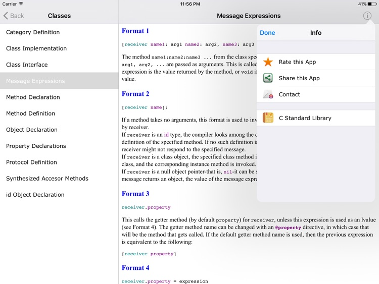 Objective C Reference HD screenshot-4