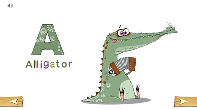 Icky Animal Alphabet screenshot one