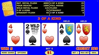 Double Draw Video Poker Screenshot