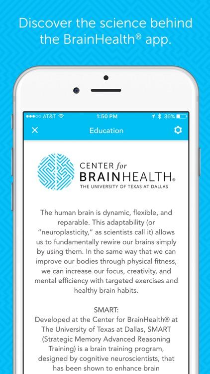 BrainHealth® screenshot-4