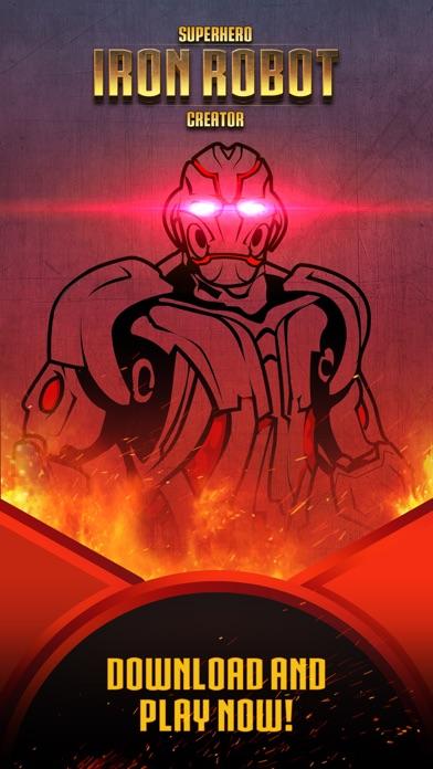 Superhero Iron Robot Creator for Avengers Iron-Man screenshot three