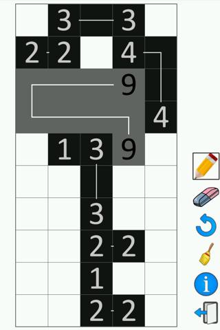 FCross Link-a-Pix Puzzles screenshot 3