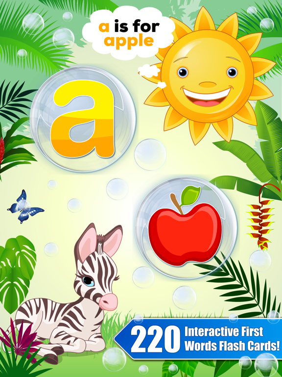 Bubble School Adventure vol 1: Ready to Read First Words Kids Learning Games for Preschool and Kindergarten Explorers by Abby Monkey® screenshot