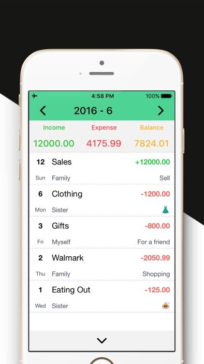 Daily Expense Tracker MoneyGo - Spending Tracker. screenshot-4