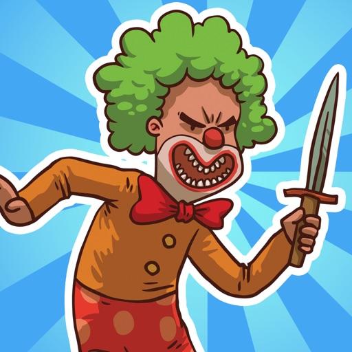 Killer Clown Games - Chase & Swipe Clowns Buster