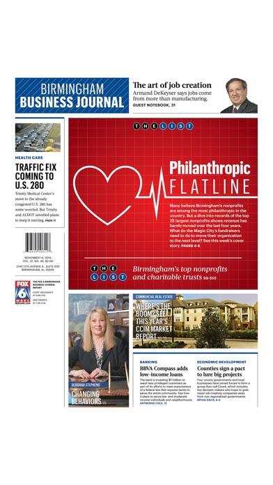 Birmingham Business Journal review screenshots