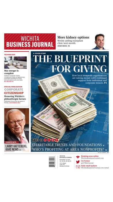 Wichita Business Journal review screenshots