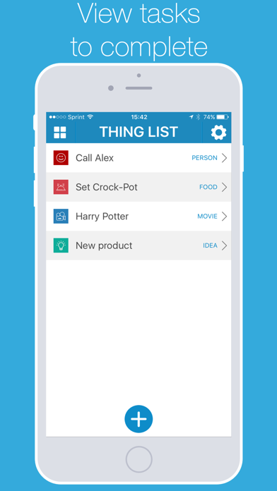 List Things - Personal Task Manager screenshot two