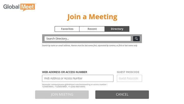 GlobalMeet Web & Audio