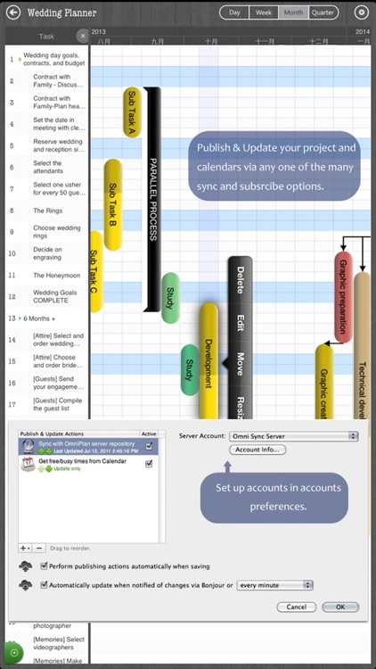 Project 365 - Task Management, Gantt Chart, GTD