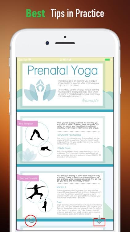 Prenatal Yoga for Beginner - Mama Guide and Tips screenshot-3