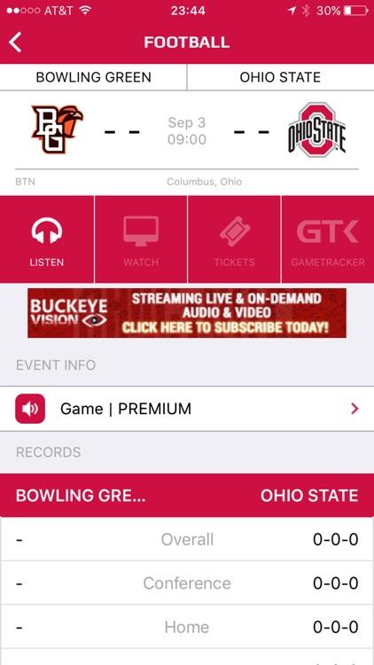 Ohio State Buckeyes Gameday LIVE