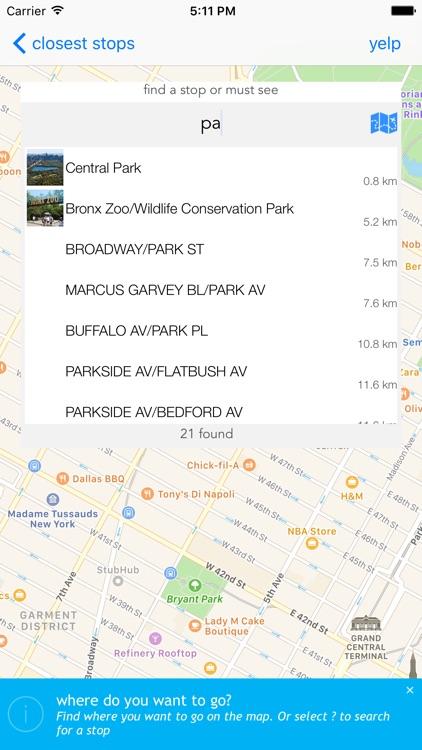 New York Public Transport screenshot-3