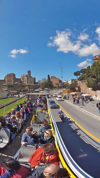 VR Rome Bus Tour Virtual Reality 360