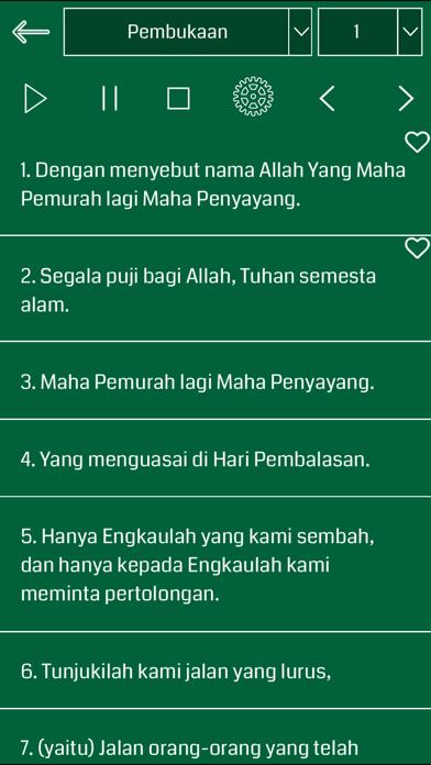 Indonesian Quran Audio screenshot two