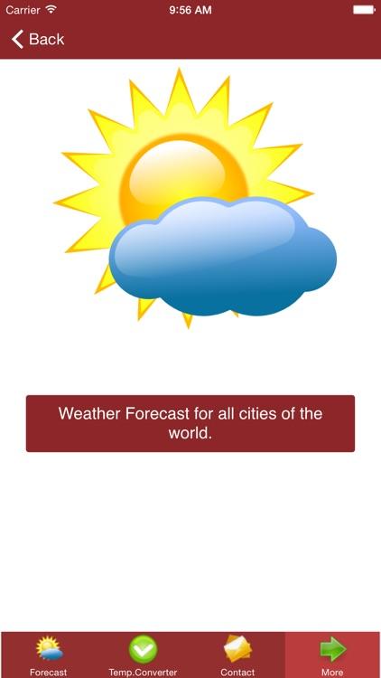 Weather Forecast App Free