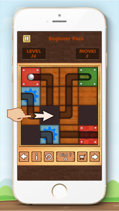 Unblock Ball Free - slide puzzle screenshot three