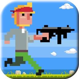 Pixel Man Shooting Adventure:Escape