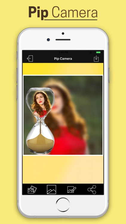 Pip Photo Effect With Blur Background screenshot-3