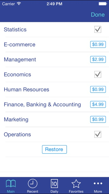 Libertuus Lite Business EN-ES screenshot-4