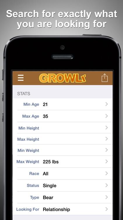 GROWLr: Gay Bear Social Network screenshot-4