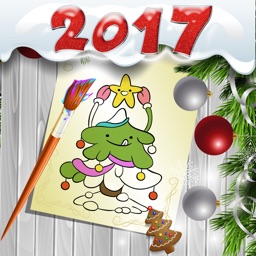 New Year 2017 Coloring Pages