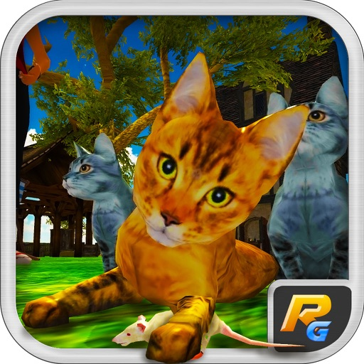 Котенок Cat 3D симулятор - игры Best Cat Mouse