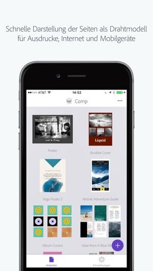 Adobe Comp CC im App Store
