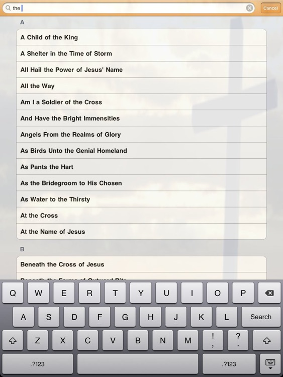 Advent e-Hymns for iPad