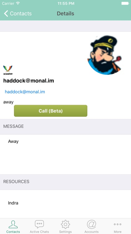 Monal - Free XMPP chat screenshot-2