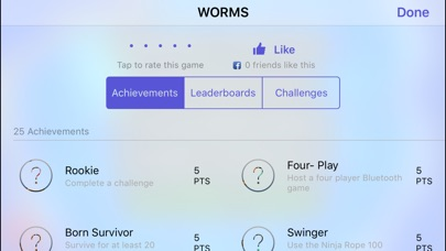 Screenshot for WORMS in Egypt App Store