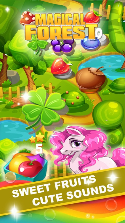 Fantasy Magical Forest - Match 3 Puzzle Game screenshot-4