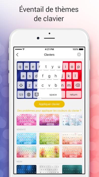 Screenshot #2 pour Clavier Emoji pour Moi - Nouveaux emojis gratuits