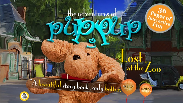 Adventures of Puppup: Lost at the Zoo For iPhone screenshot-0