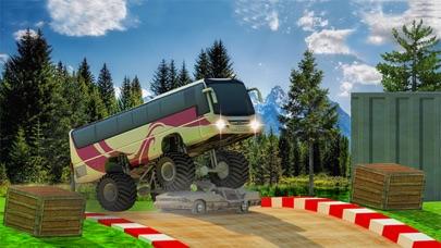 公共汽车特技4x4怪物卡车山驾驶 App 截图