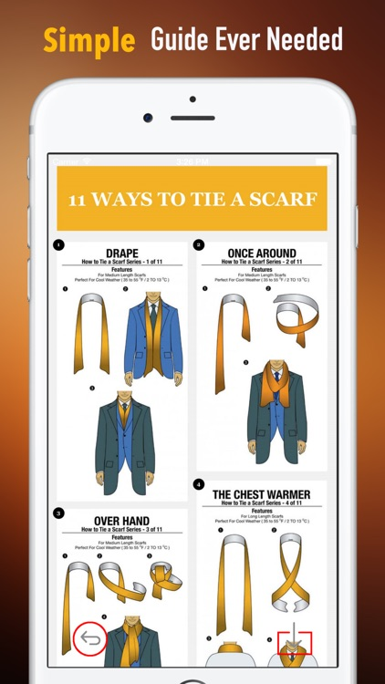 How to Wear a Scarf:50 Ways screenshot-1