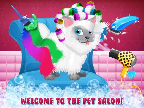 Sunnyville Fluffy Salon на iPad