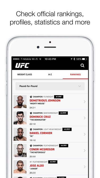 UFC ® screenshot-2
