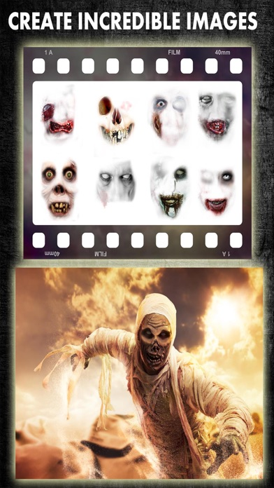 Zombie Booth Scary Face Photo Editor Camera Free by iDevver