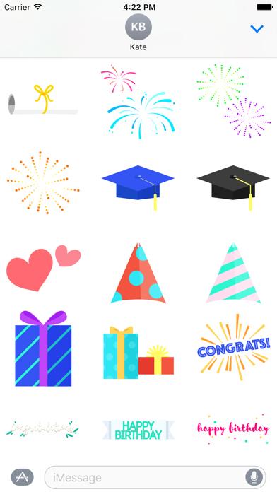 Super Stickies: CelebrationScreenshot of 2