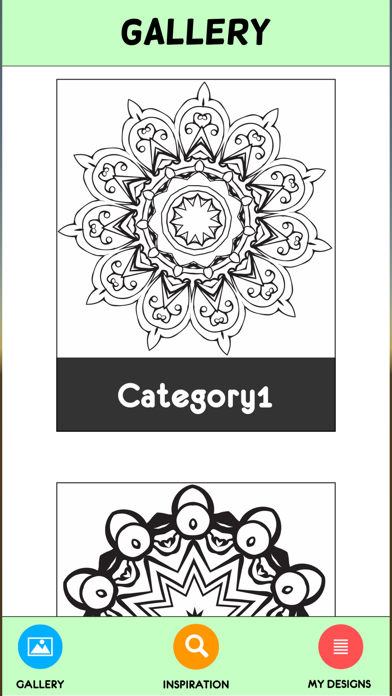 Coloring Book For Adults Pigment Pages Relaxation-0