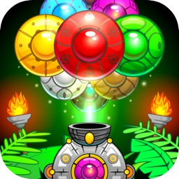 Jungle Marble Bubble Shooter