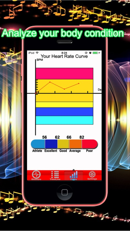 Pulse Heart Rate Oximeter + screenshot-3