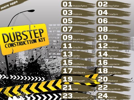 Dubstep Construction Kit - Beatmachine (Premium) screenshot 8