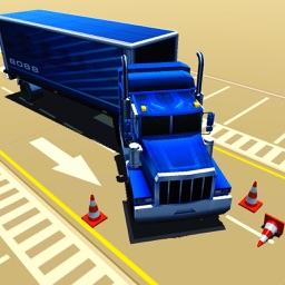Truck Parking Simulator Crazy Trucker Driving Test